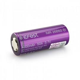 Batería Efest 26650 4200mah...